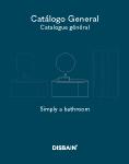 Catalogue mobilier de salle de bains DISBAIN