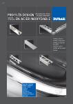 Brochure Profilés inox DURAL