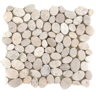 Mosaïque Coin White