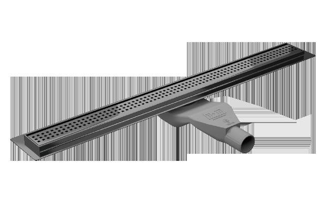 Canaline de douche italienne avec grille inox  80cm