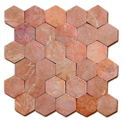 Mosaïque Hexagonal Pink