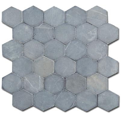 Mosaïque Hexagonal Grey