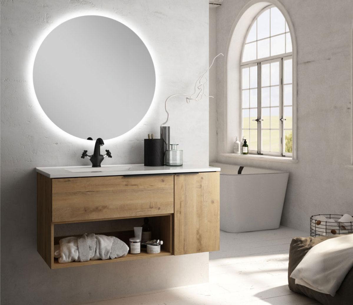 Meubles de salle de bains Black Modena
