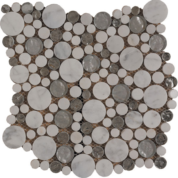 Mosaïque Piedra Cristal Distinction Grey