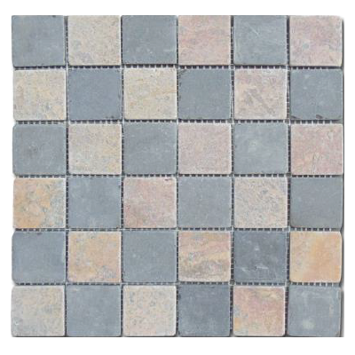 Mosaïque Parquet Grey and Pink 5x5