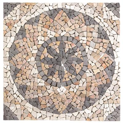 Mosaïque Roseton-Wheel
