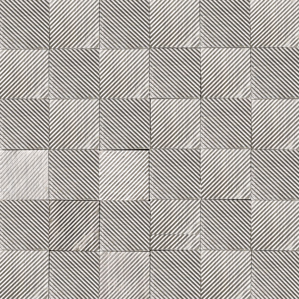 Mosaïque Stone Grooved Grey