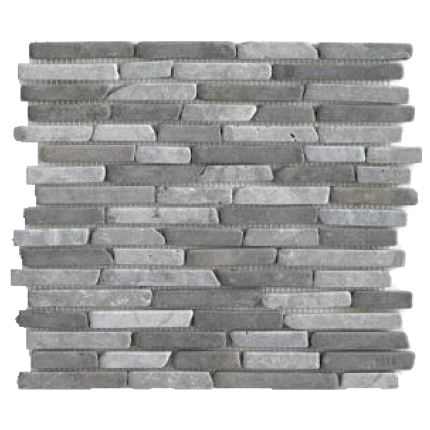 Mosaïque Stripes15LightGrey-Grey