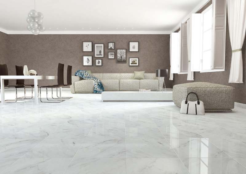 carrelage gr s c rame porcelain poli mod le palace taille 60 x 60cm. Black Bedroom Furniture Sets. Home Design Ideas