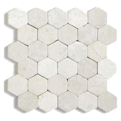 MosaïqueHexagonal Blanc