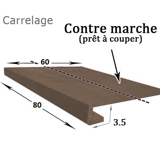 Carrelage poli collection Onyx ambre
