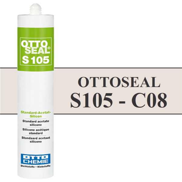 Silicone OTTOSEAL S105 - Jasmin C08 - 310ml - OTTO-CHEMIE