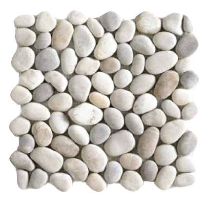 Mosaïque pebbles-brown