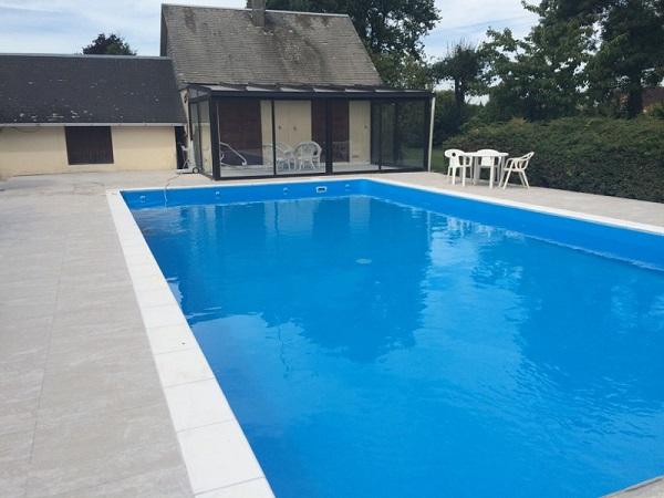 Carrelage bord de piscine top charmant pose de margelle for Margelle piscine toulouse