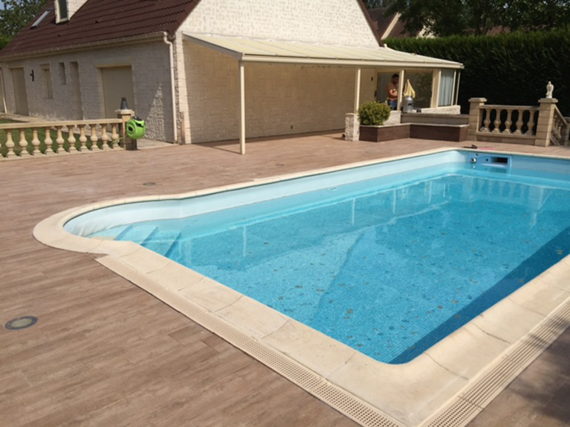 Attrayant Affordable With Carrelage Imitation Bois Piscine Nice Look