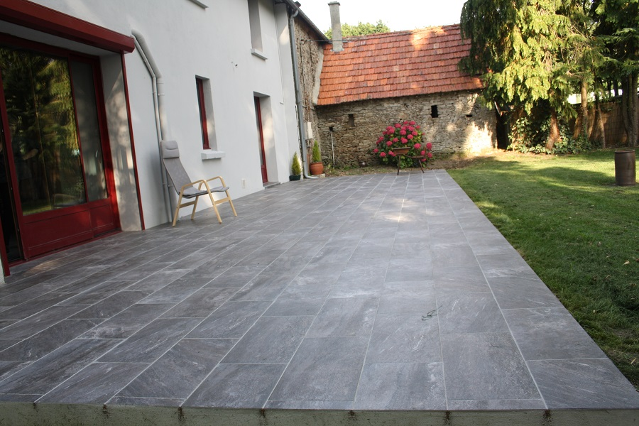 Carrelage design carrelage garage pas cher moderne for Carrelage terrasse pas cher