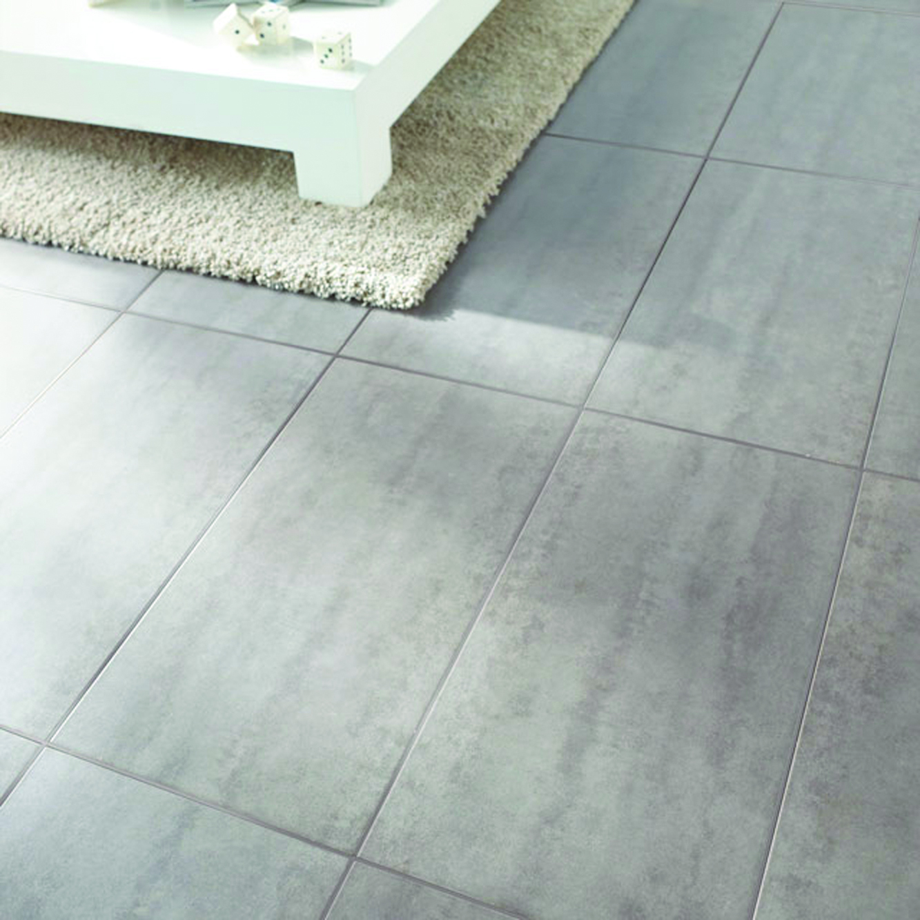 Carrelage Rectifié Ou Pas costiles - carrelage aspect beton stone white - 62 x 31cm