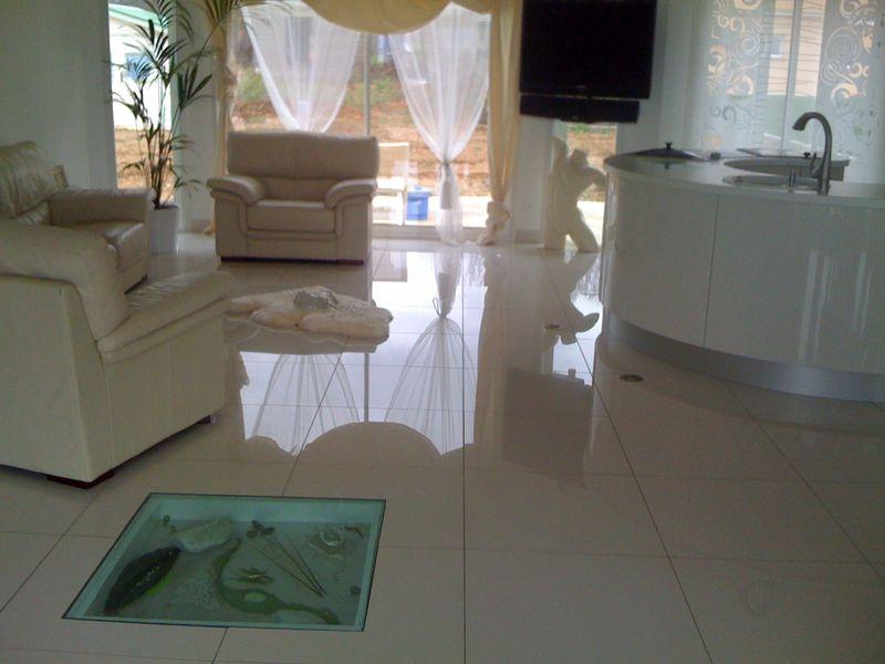 Carrelage grès cérame porcelainé poli modèle casablanca taille 800 x 800
